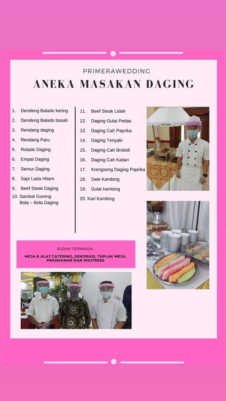 Paket Menu Catering Aneka Masakan Daging